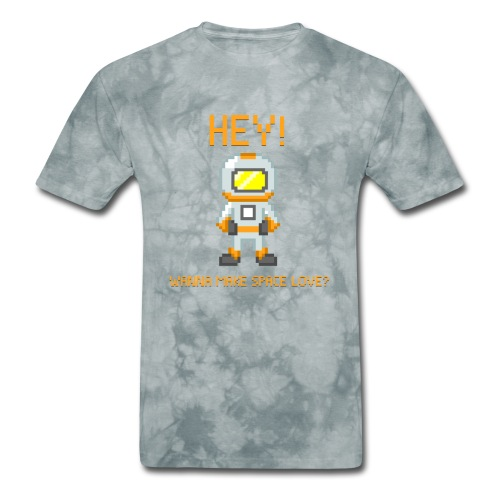 spacelove2 png - Men's T-Shirt