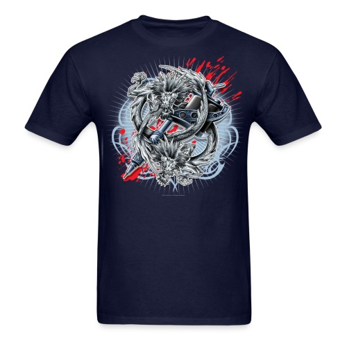 Dragon Tattoo by RollinLow - Men's T-Shirt