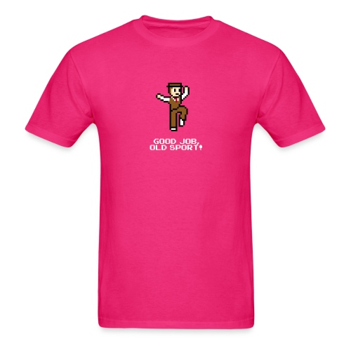 nickjumpshirtwhite - Men's T-Shirt