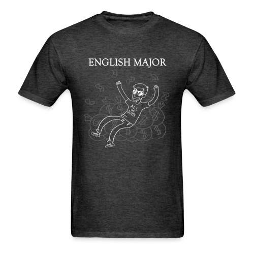 English Major - Men's T-Shirt