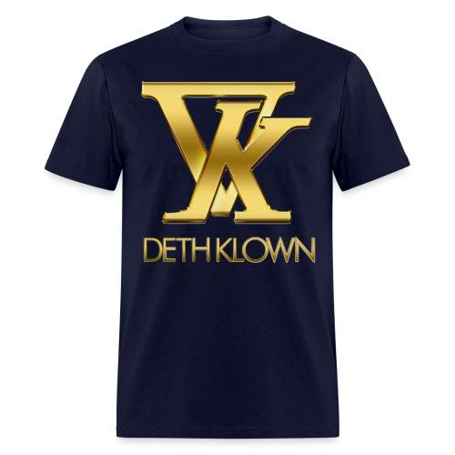 DK on Black png - Men's T-Shirt