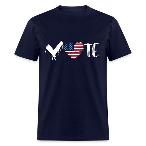 Vote Heart - Men's T-Shirt