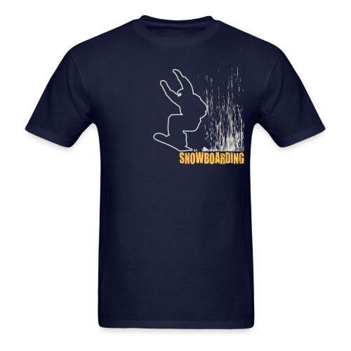 Snowboarder Snowboarding - Men's T-Shirt