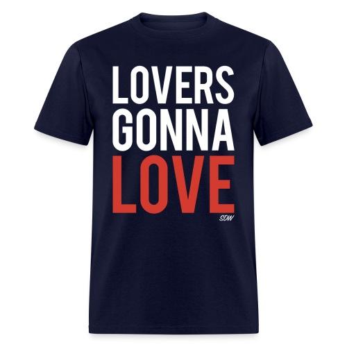 LoversGonnaLove2 - Men's T-Shirt