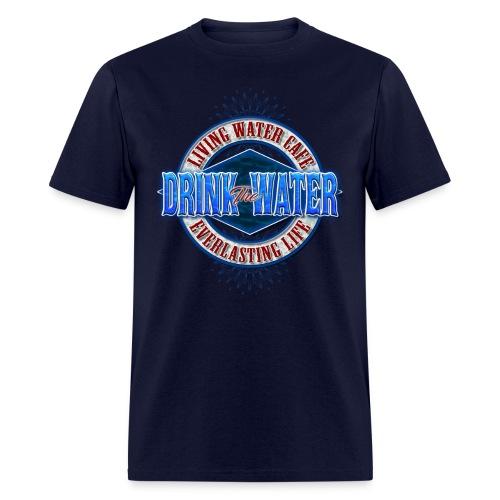 Living Water Cafe - Men's T-Shirt