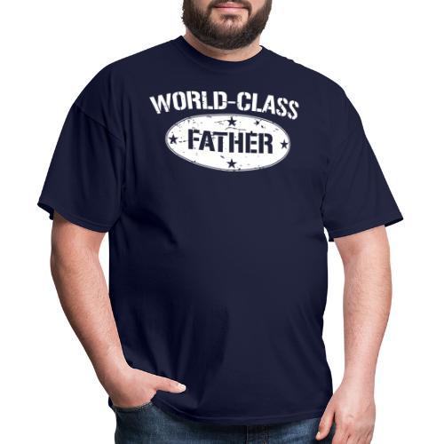 World-Class Father - Men's T-Shirt
