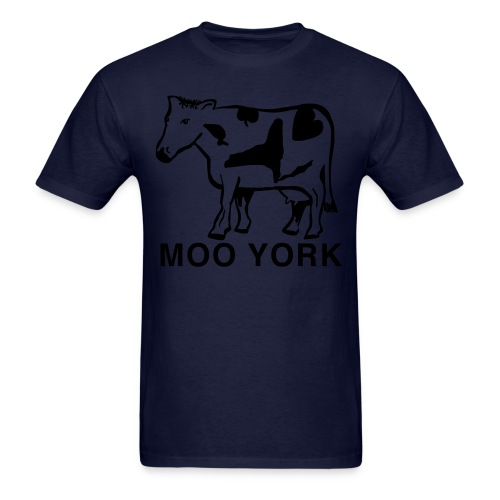 Moo York - Men's T-Shirt