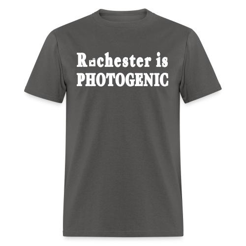 New York Old School Rochester is Photogenic Shirt - Men's T-Shirt