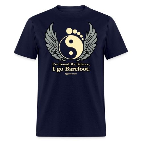 I've Found My Balance, I go Barefoot - Men's T-Shirt