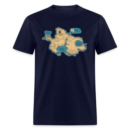 neverlandmap - Men's T-Shirt