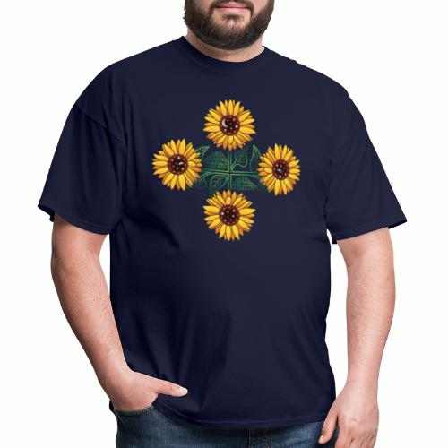 Night Blooms from the Sun - Men's T-Shirt