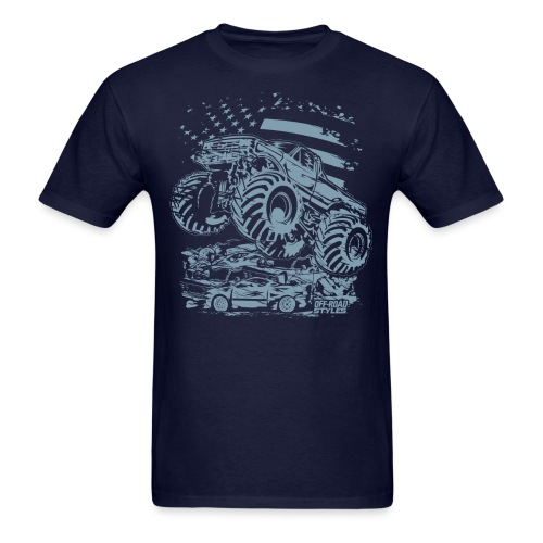 Monster Truck USA - Men's T-Shirt