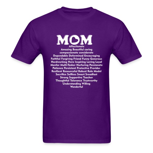 Mom Definition, Mother Definition, Great Mom - Men's T-Shirt
