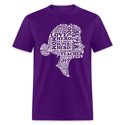 Mother Definition, Teacher Mom, Great Teacher Mom - Men's T-Shirt