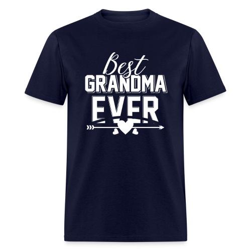 Best Grandma Ever, Best Mom Ever, Best Grandmother - Men's T-Shirt