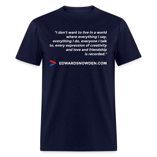 6697837 113645539 design 4 white orig - Men's T-Shirt