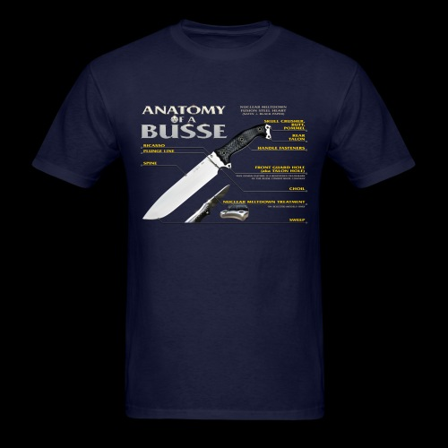 Anatomy of a Busse - Men's T-Shirt