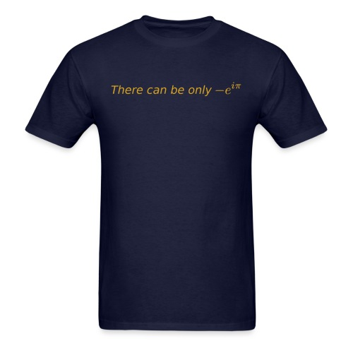 there can be gold - Men's T-Shirt