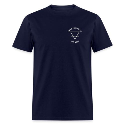 terratowingfront2 png - Men's T-Shirt
