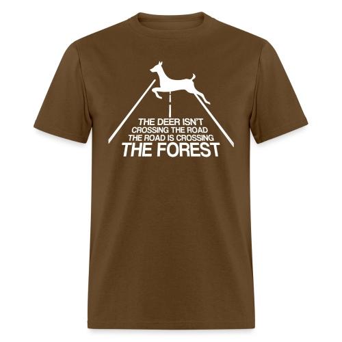 Deer's forest white - Men's T-Shirt
