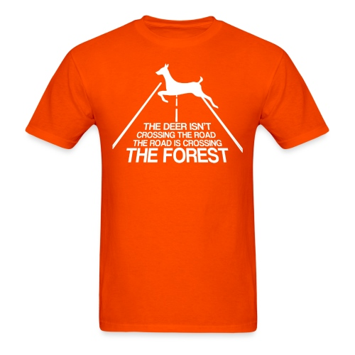 Deer's forest white - Men's T-Shirt