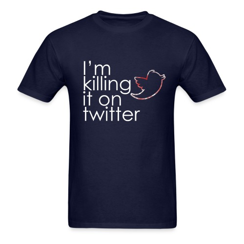 killingtwitter - Men's T-Shirt