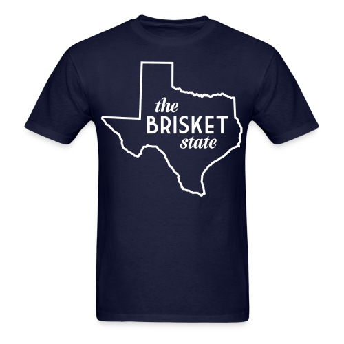 brisketstate 1 01 png - Men's T-Shirt