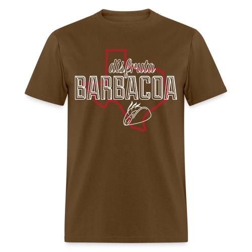 disfrutabarbacoa 1 01 png - Men's T-Shirt
