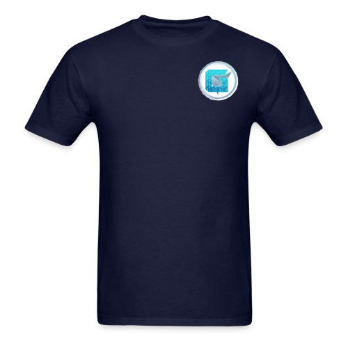 blue 1 2 - Men's T-Shirt