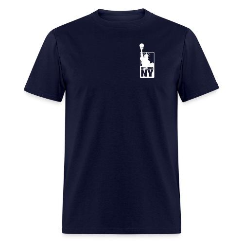 Kettlebells NY women's tee shirt - Men's T-Shirt