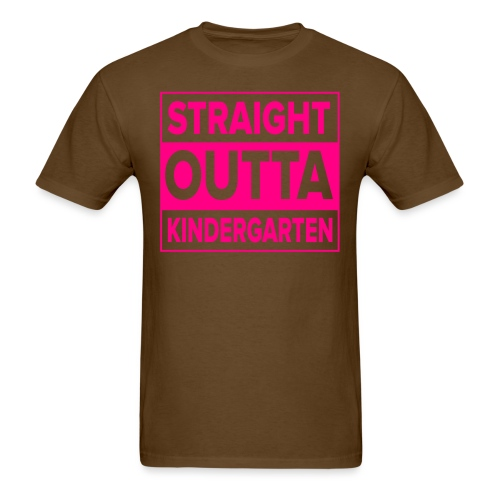 Straight Outta Kindergarten - Men's T-Shirt