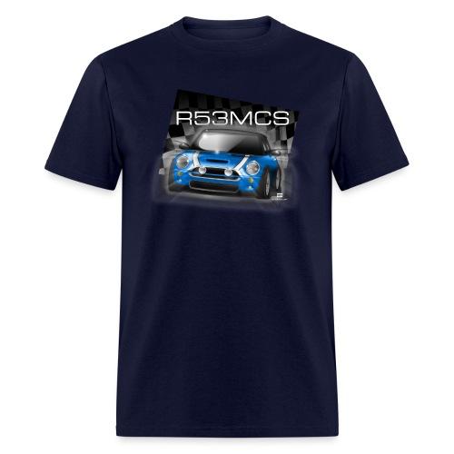 R53MCS_BLUE - Men's T-Shirt