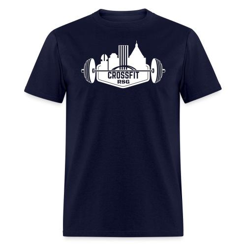 Classic Logo White - Men's T-Shirt