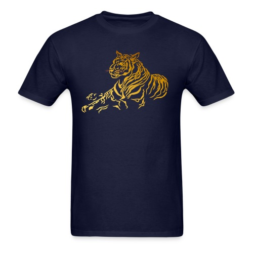 Gold Tiger - Men's T-Shirt