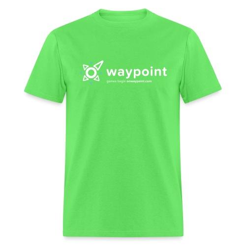 Waypoint Logo (Light Version) - Men's T-Shirt