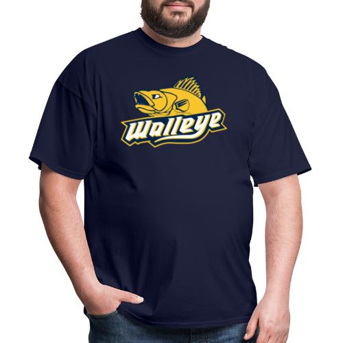 Walleye HC LOGO - Men's T-Shirt