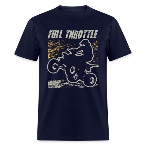 ATV Quad Full Throttle - Men's T-Shirt