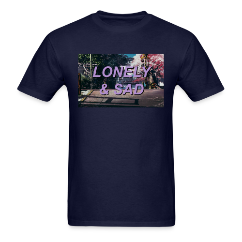 Purple/Black Street - Men's T-Shirt