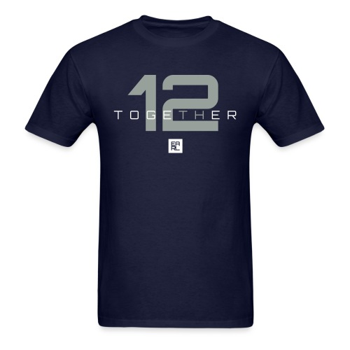 together 2 gray - Men's T-Shirt