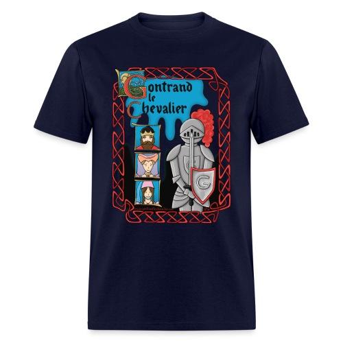 Gontrand le Chevalier - T-shirt pour hommes