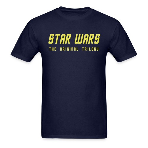 star wars original trilogy - Men's T-Shirt