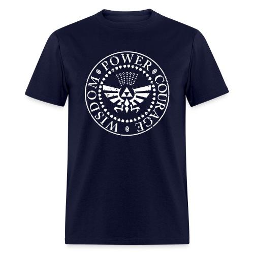 Wisdom Power Courage - Men's T-Shirt