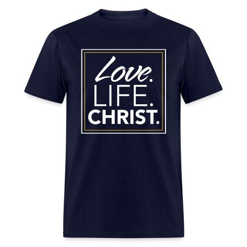 men_lovelifechrist - Men's T-Shirt