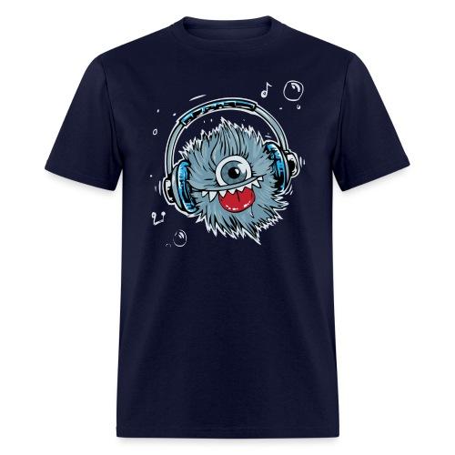 Music Monster - Men's T-Shirt