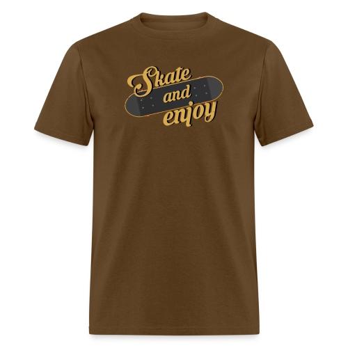 Skate And Enjoy - Men's T-Shirt