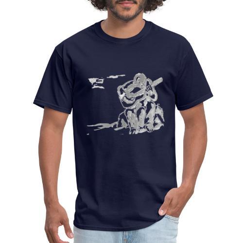 guitar player art no background - Men's T-Shirt