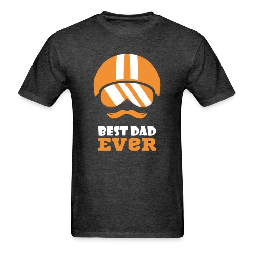 Best Motorcycle Dad Ever, Best Dad Ever - Men's T-Shirt
