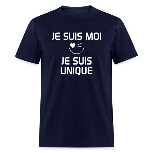 JeSuisMoiJeSuisUnique - Men's T-Shirt