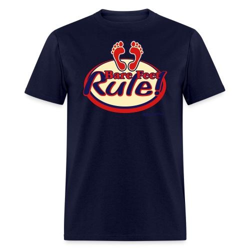 Bare Feet Rule! - Men's T-Shirt