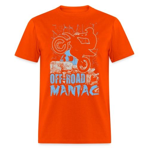 Motocross Off-Road Maniac - Men's T-Shirt